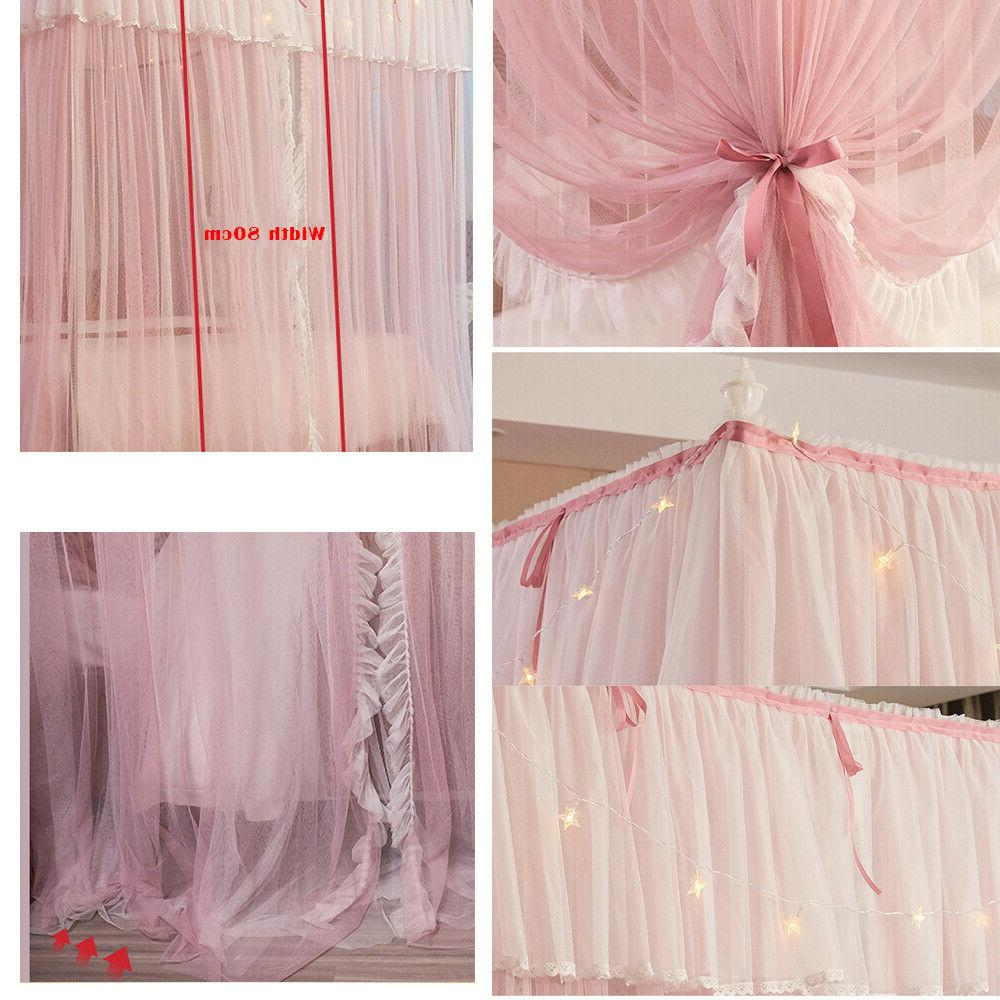 4 Net Bed Netting Mosquito Frame