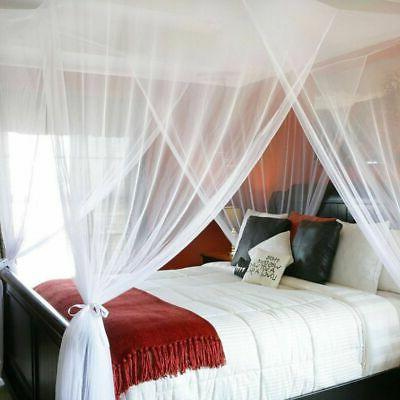 4 Canopy Size Bedroom Mesh Curtain