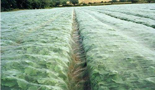 agfabric 8x30ft mosquito netting bug insect bird