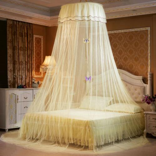 bed mosquito netting mesh lace canopy princess