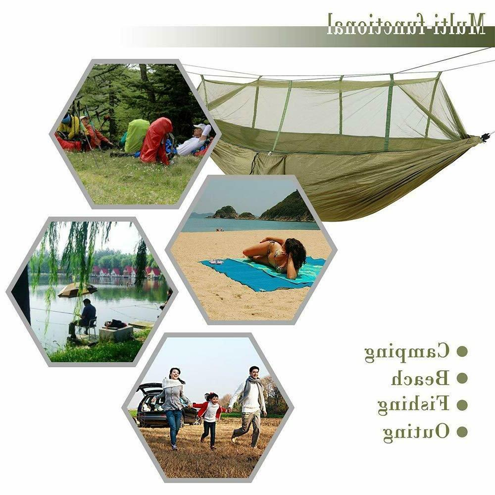 Outdoor Camping w/Mosquito Net Tent Hanging Bed Swing Chair
