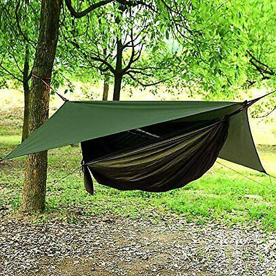 AEETT Camping Hammock Mosquito Net and Fly