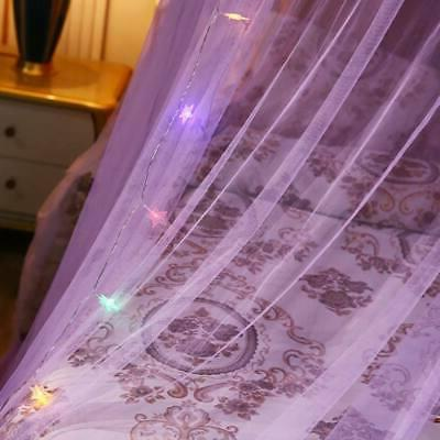 Lace Bed Mesh Princess Round Dome LED