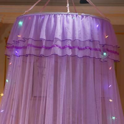 Canopy Solid Mosquito Princess Bed Mesh Shield Hanging Netting Curtains