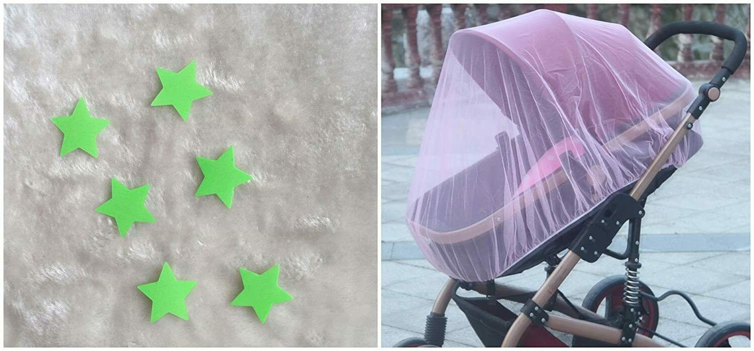 Decor Bug Net Strollers&Infant Carriers-Soft&Clear