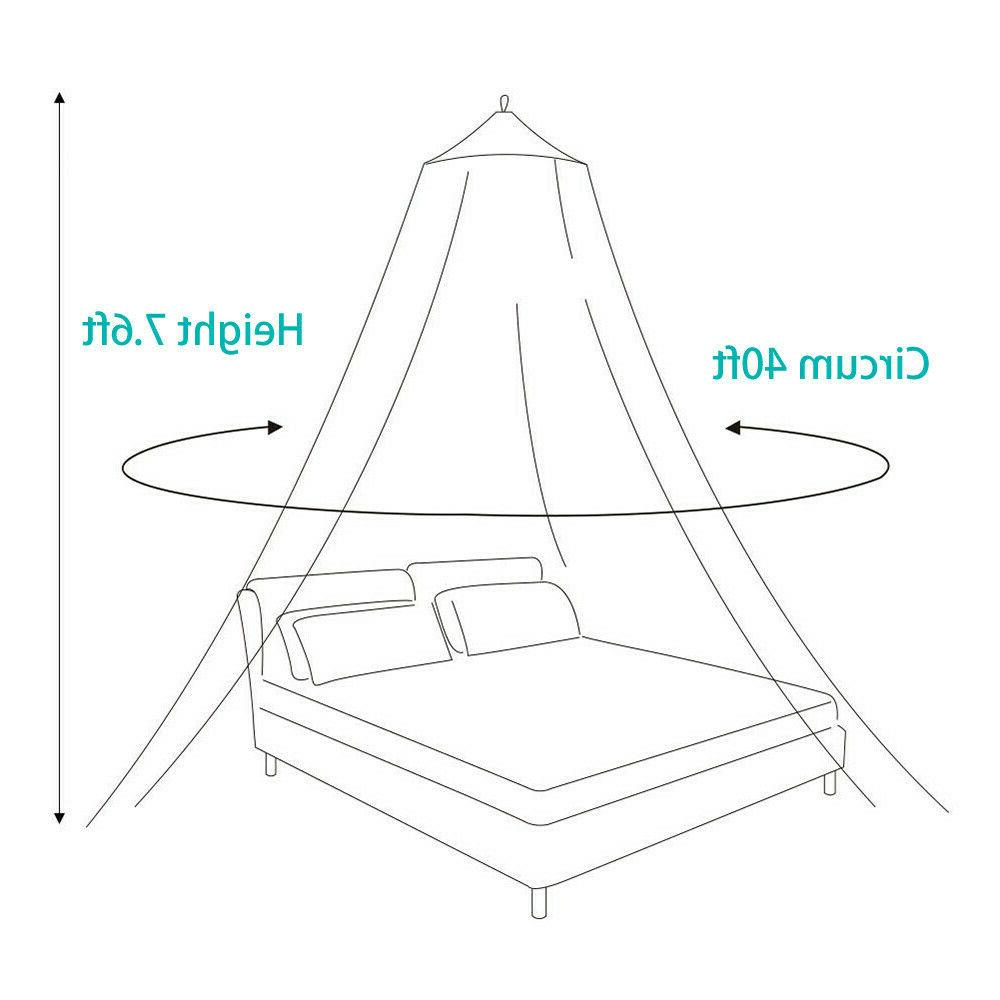 Mosquito Queen Size Home Canopy Elegant Netting Princess US