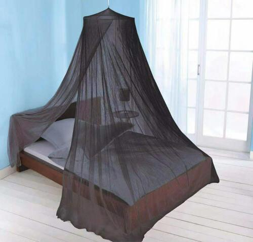 Just Mosquito Net Bed Black,