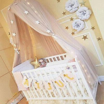 Fairy Kid Baby Canopy Crown Hanging Mosquito Room