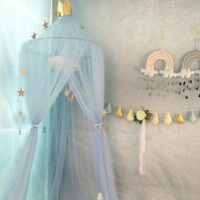 Fairy Kid Baby Canopy Crown Hanging Mosquito Net Room