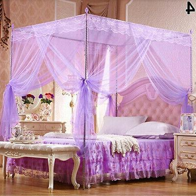 Lace Curtain Bed Canopy Netting Princess Mosquito Net for Tw