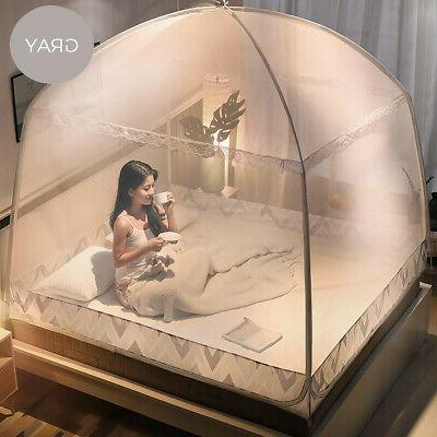 Folding Bed Canopy Mosquito Net Screen For 1.8×2M