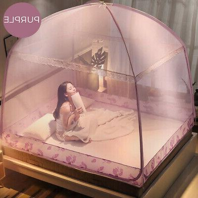 Folding Canopy Mosquito Tent For Queen Bed 1.8×2M
