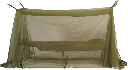 usgi army military cot mosquito net green