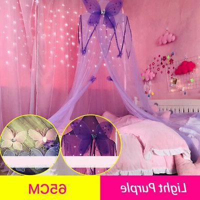 EFUL-Kids-Mosquito-Net-Crib-Netting-Butterfly-Round-Dome-Bed