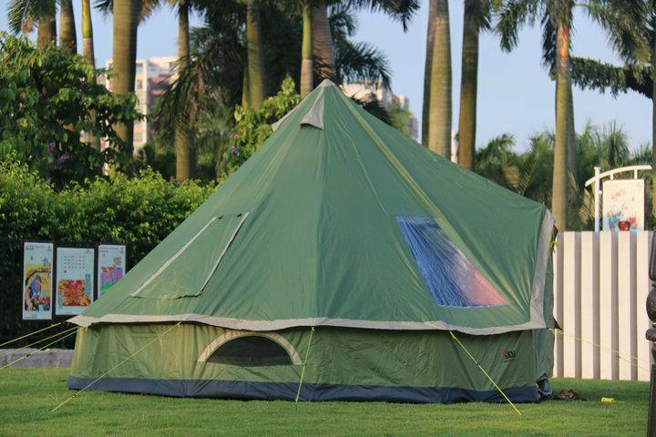 Glamping Camping Tent Hiking Anti Mosquito Shelter Family