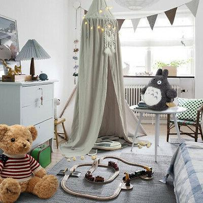 kids baby bedcover bed canopy mosquito net