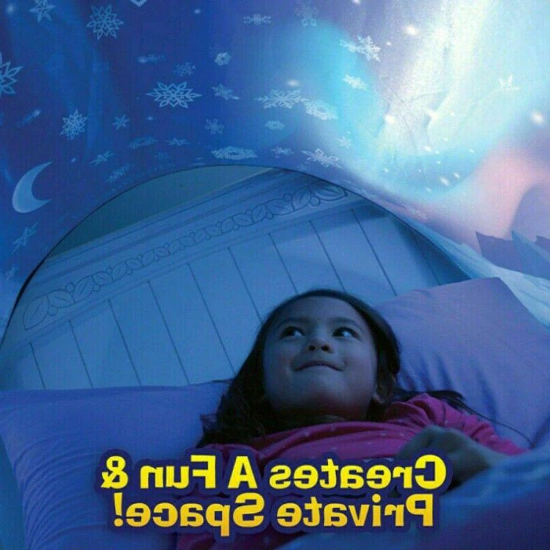 Kids Dream with Light Children Sleeping