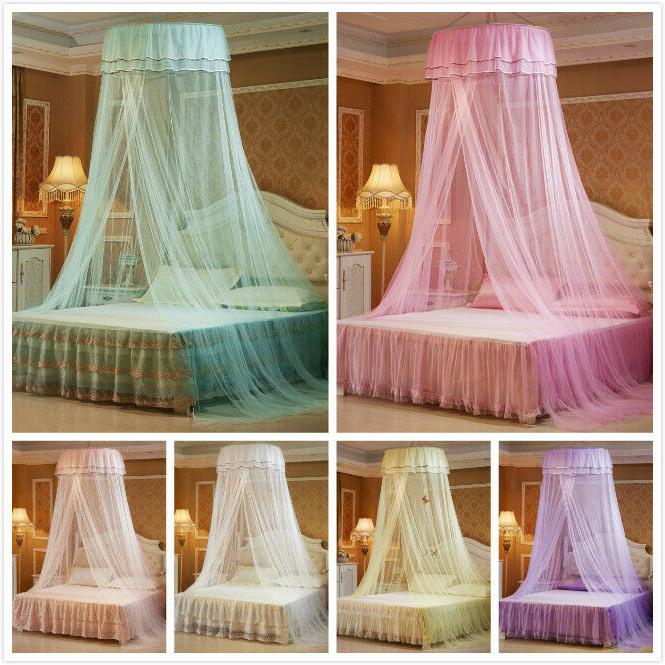 kids princess bed canopy netting curtains mosquito