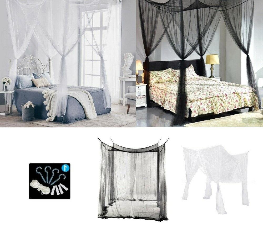 Classical Bed Queen King White/Black