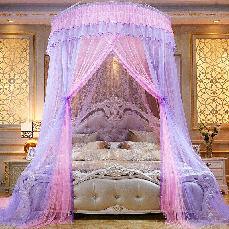 Luxurious Bed Curtains Mosquito Dome