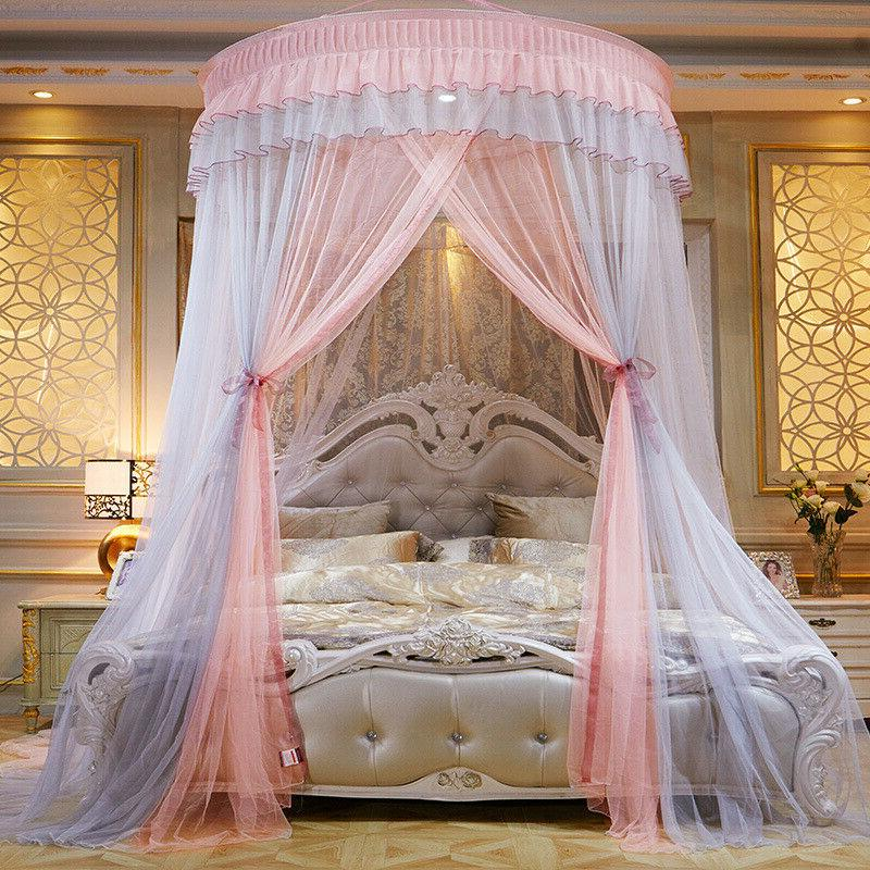 Luxurious Princess Curtains Net Bedding Dome Hanging