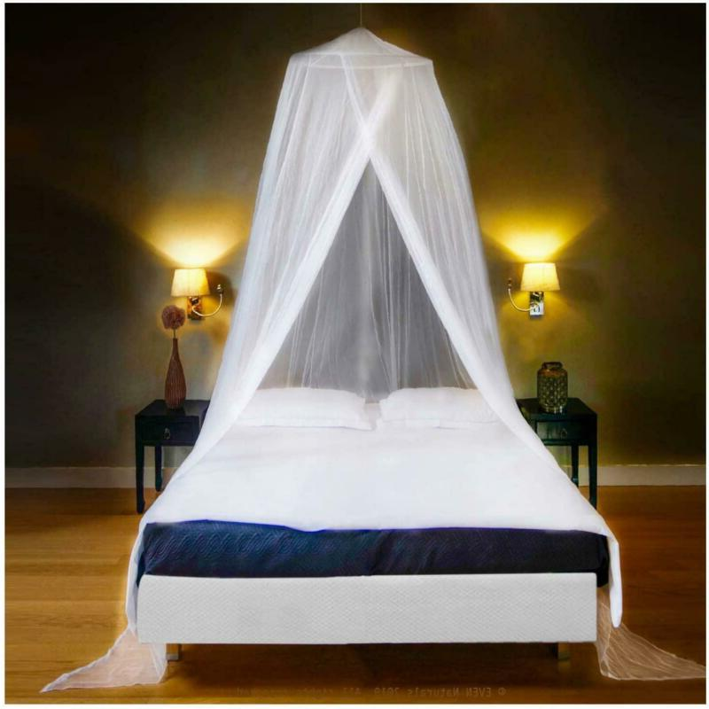 luxury mosquito net bed canopy large