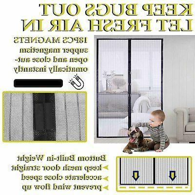 Magnetic Anti-Mosquito Net Curtain