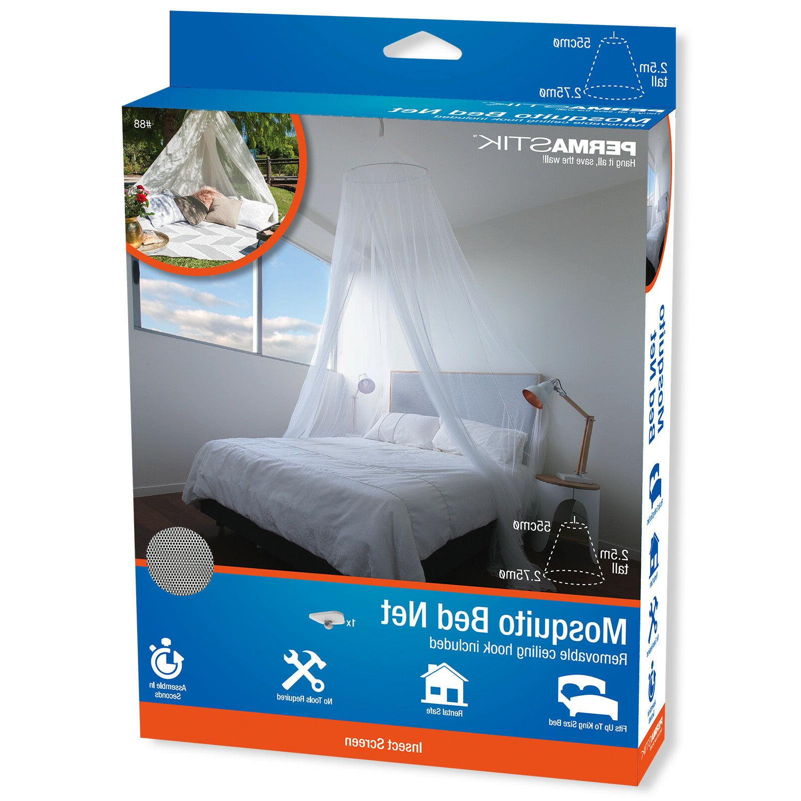 mosquito bed net 2 5m high removable