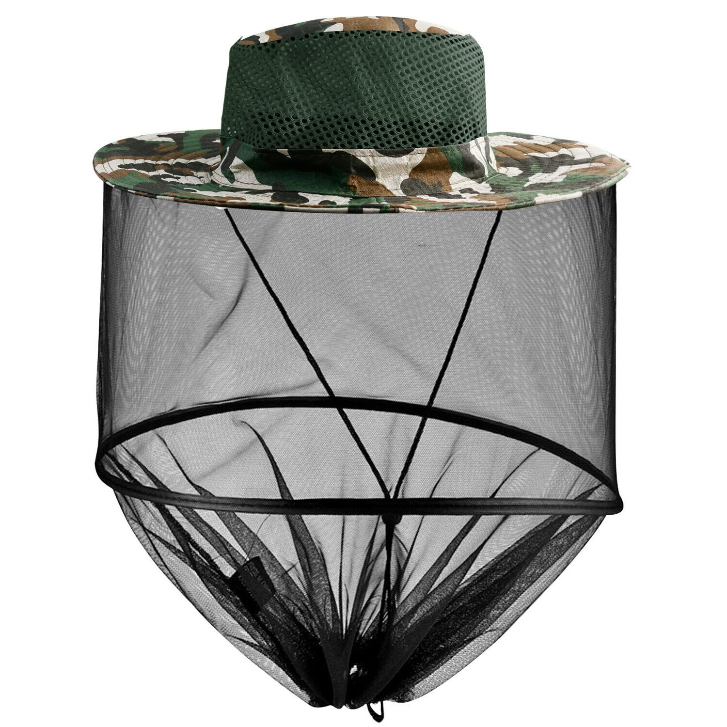Net Hat Sun Insect Bug Mesh