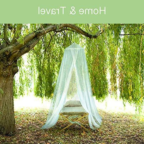 EVEN for to Queen Canopy Curtains, Large Mosquito with Opening, Easy Installation, Mesh