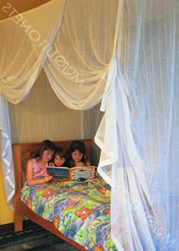 MOSQUITO NET BED | Net | machine cotton netting | protection.