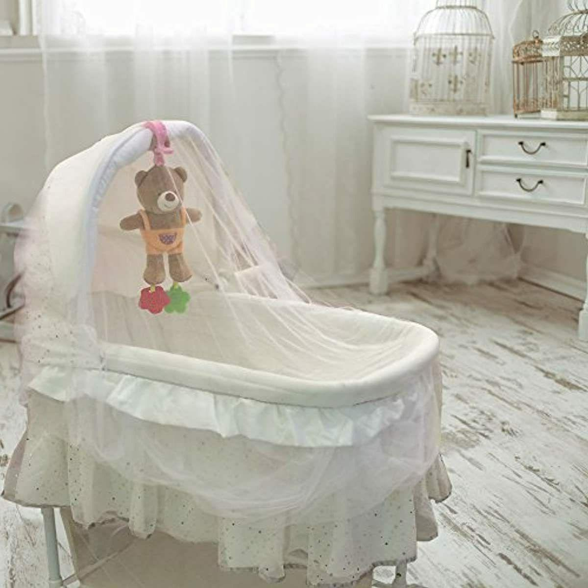 Mosquito Net for Stroller and Play Bassinet Elastic