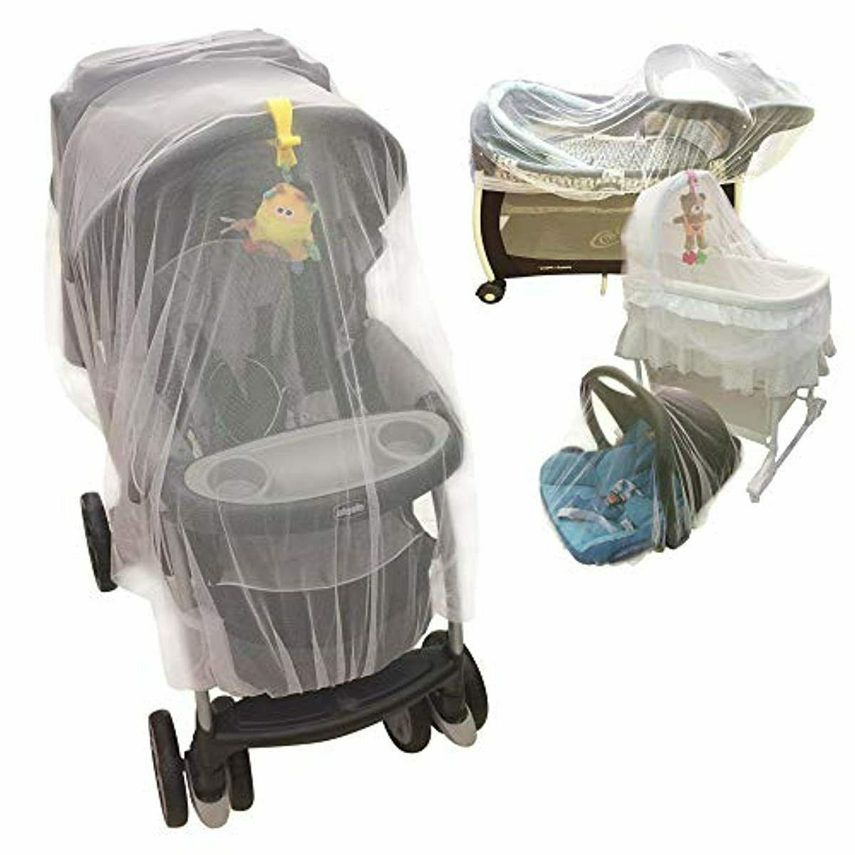 mosquito net for baby stroller crib pack