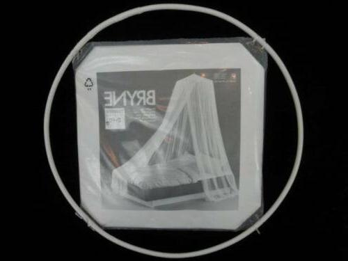New IKEA Bryne White Mosquito Net Bed Fits Sizes