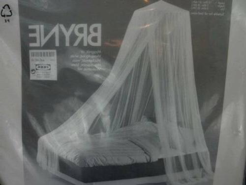 new bryne white mosquito net princess bed