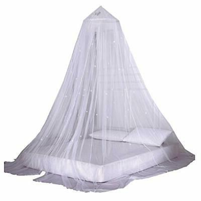 OctoRose Glow in The Dark Star Bed Canopy Mosquito