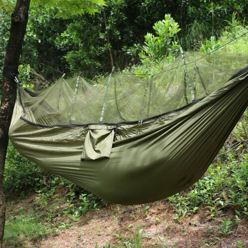 Outdoor Camping Double Person Travel Tent Hanging Hammock Bed