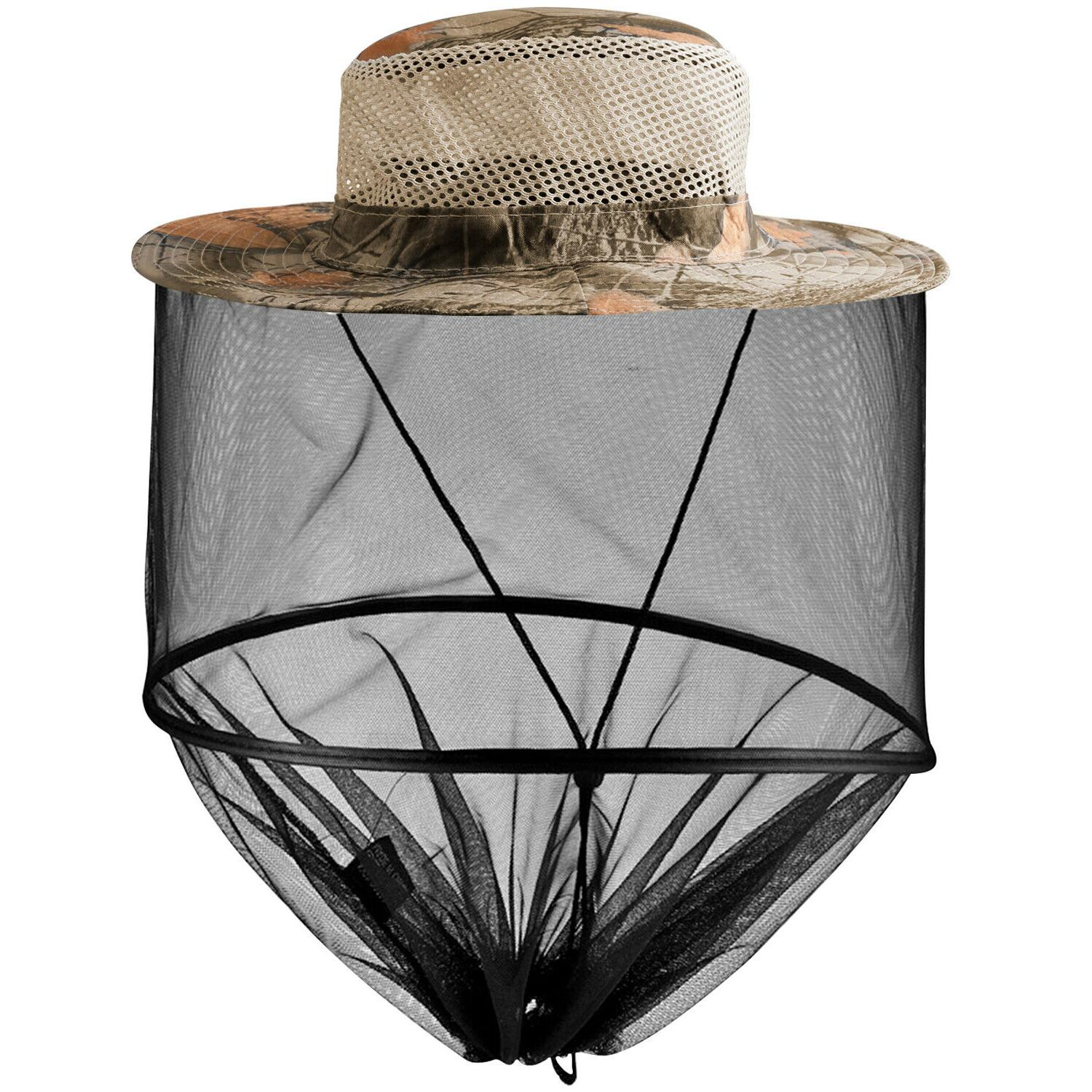 Outdoor Net Hat Insect Protection Mesh Cap
