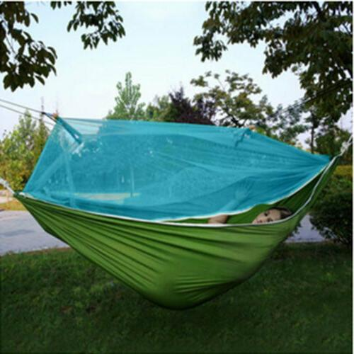 outdoor travel camping hanging hammock bed wi