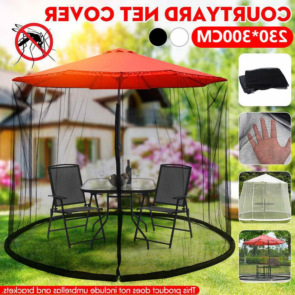 Patio Umbrella Mosquito Net Bug Insect Table Screen Cover Pa