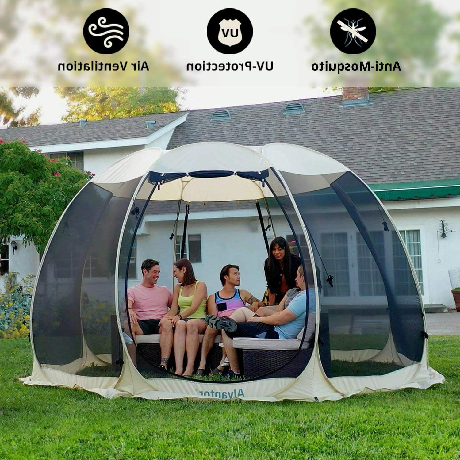 Room Tent Canopy Gazebo 4-6 for Patio