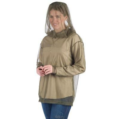 The Wearable Mosquito Net Top Olive Green Color Size Medium