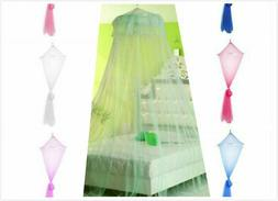 Lace Bed Mosquito Net Crib Round Netting Anti-Insect Mosquit