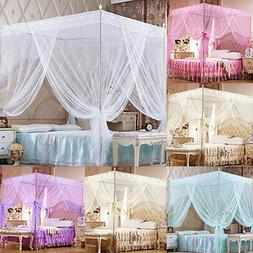 Fashion Princess Lace Canopy Mosquito Net No Frame for Twin