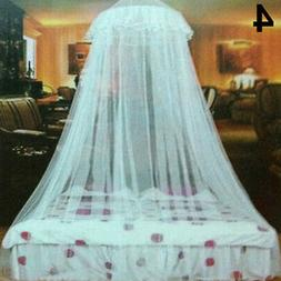 Lace Insect Mosquito Net Round Dome Bed Canopy Netting Curta