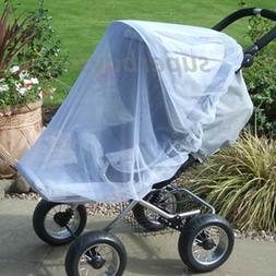Large Pram Stroller Pushchair Child Buggy Mosquito Insect Fl