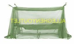 LARGE US Military Insect Bar Mosquito Net Netting Cot Army U