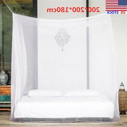 Large White Camping Mosquito Net Indoor Outdoor Netting Stor