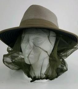 LOT of 5 Mosquito Head Net for Hat Camping Fishing Hiking Ba
