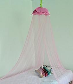 OctoRose ® Lotus Leaf Top Bed Canopy Mosquito Net for all S
